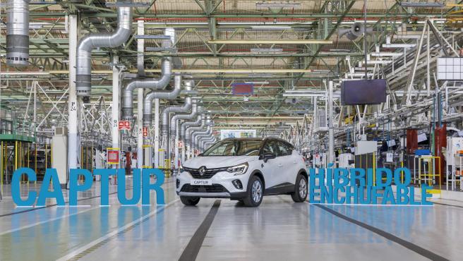 Archivo - Imagen de archivo de una factoría de Renault en Castilla y León.