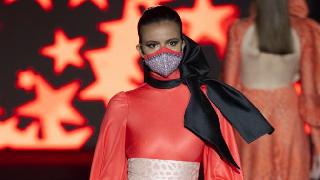 Desfile de Hannibal Laguna en la Mercedes-Benz Fashion Week Madrid.
