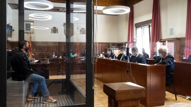 Igor el ruso declara en el juicio.