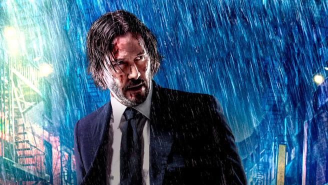 Una de las imágenes promocionales de la saga 'John Wick'