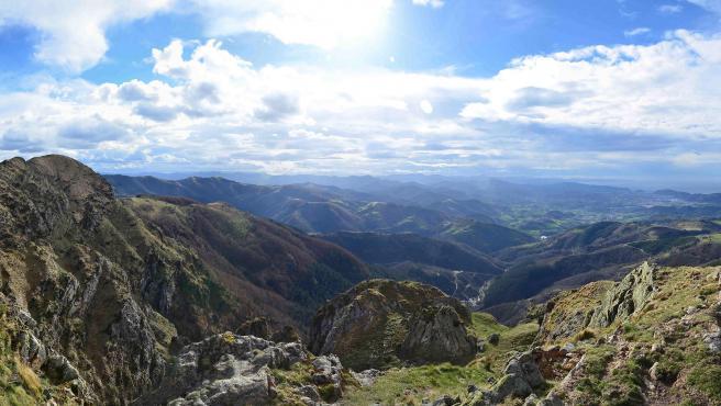 Vistas desde la Peña de Aya.