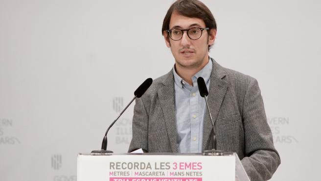 Archivo - El portavoz del Govern, Iago Negueruela