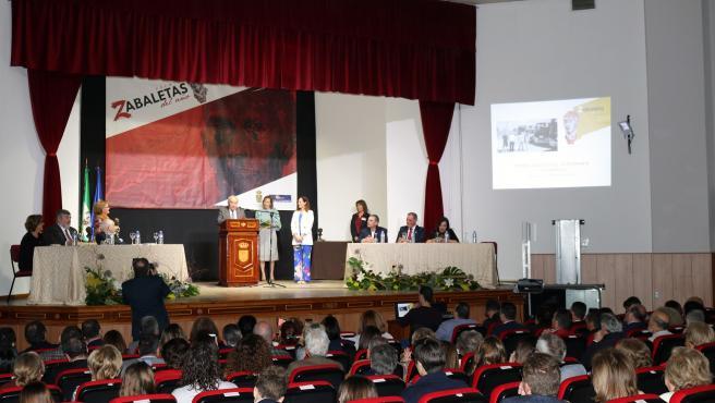 Archivo - Entrega de una edición anterior de los Premios Zabaleta del Año/Archivo