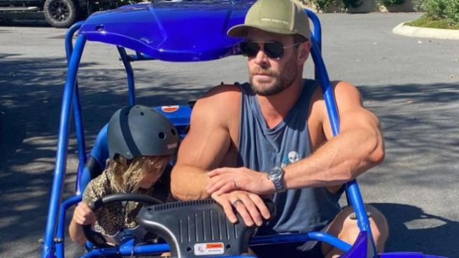 Chris Hemsworth en su cuenta de Instagram