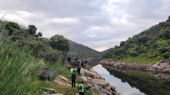Dispositivo de búsqueda de la mujer Rosalía Cáceres en los alrededores de Bohonal de Ibor