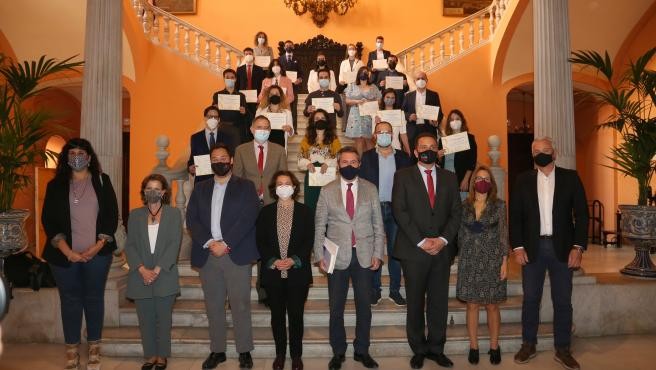 Entrega de los galardones de la octava edición del Premio Joven a la Cultura Científica