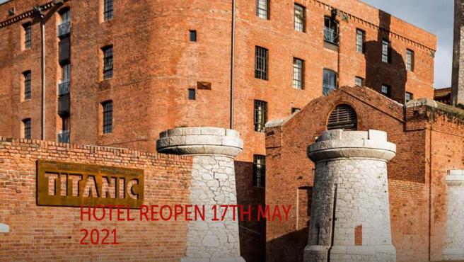El Hotel Titanic en el que se aloja el Real Madrid en Liverpool.