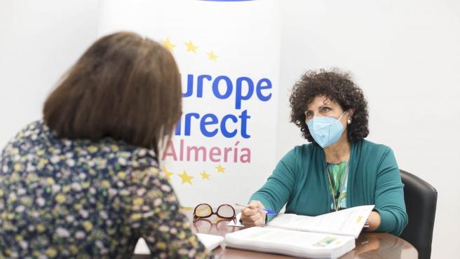 La diputada provincial de Iniciativas Europeas, Carmen Navarro