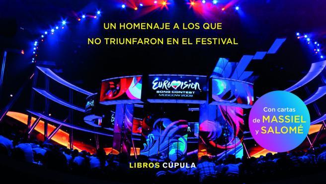 Portada del libro 'Yo tampoco gané Eurovisión'.