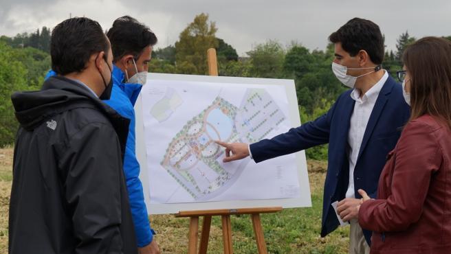 Presentación de los planos del del Parque Lineal de Coín
