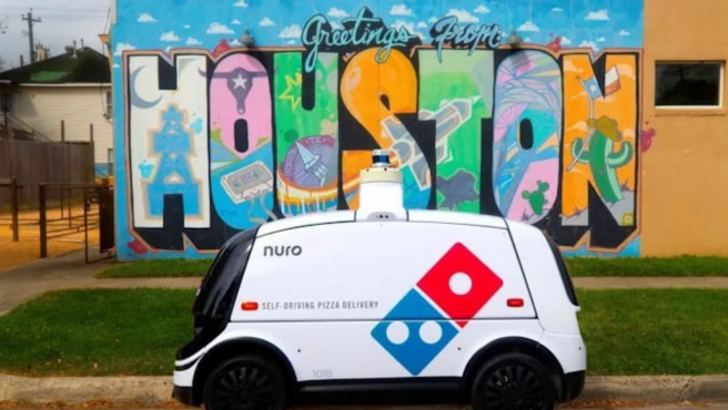 El robot ha empezado a estar operativo esta semana en un barrio de Houston.