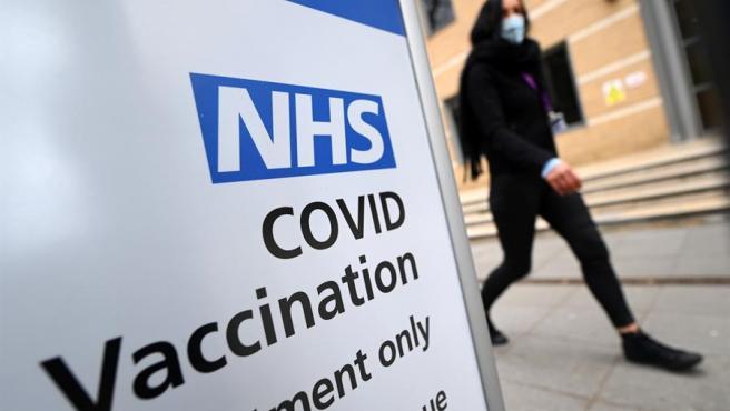 Un centro de vacunación contra la covid-19 en Londres, Reino Unido.
