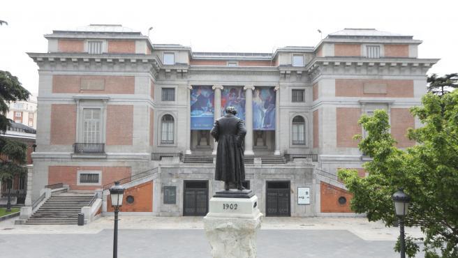 Archivo - Fachada del Museo del Prado