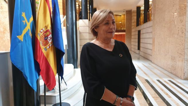 Archivo - La alcaldesa de Avilés, Mariví Monteserín