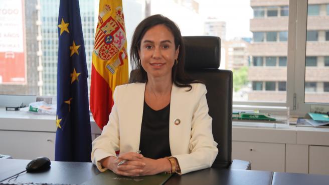 Archivo - La presidenta de Adif, Isabel Pardo de Vera, en una imagen de archivo