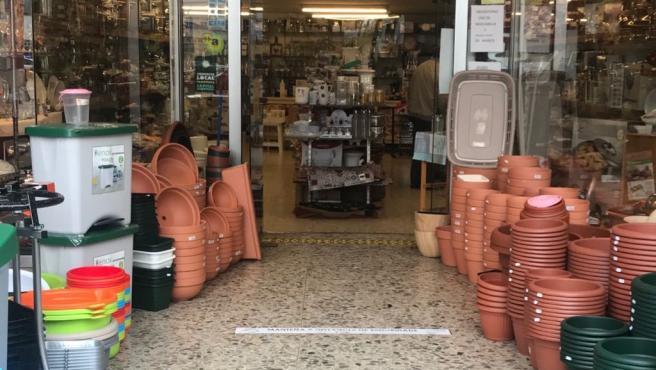 Comercio local en Pontevedra (Galicia)