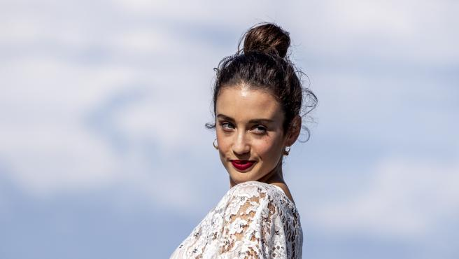 Maria Pedraza durante el Festival de cine de San Sebastián.