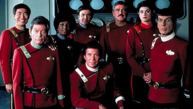El vestuario de Robert Fletcher para 'Star Trek II: La ira de Khan'.