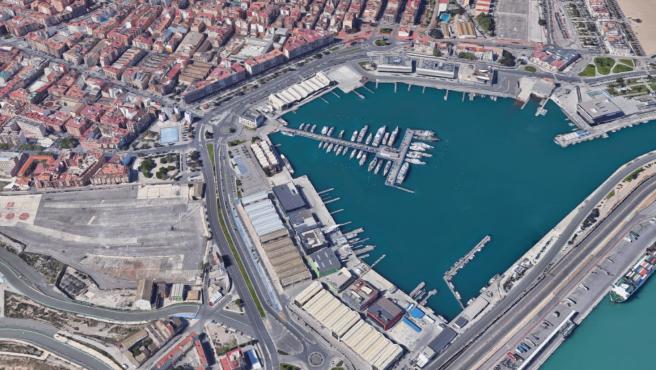 El entorno de la Marina de València.