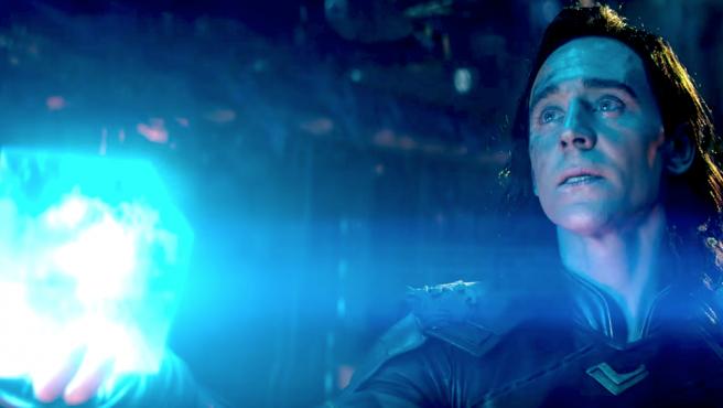Loki (Tom Hiddleston) en 'Vengadores: Infinity War'