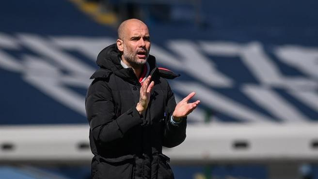 Pep Guardiola, Manchester City manager.