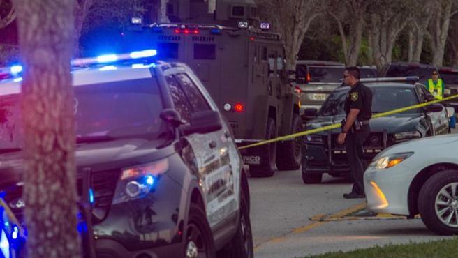 Un operativo policial en Florida (EE UU), en una imagen de archivo.