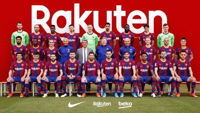Primera plantilla del FC Barcelona