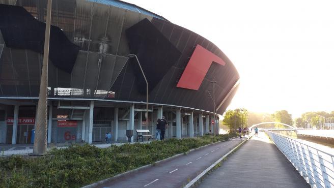 Archivo - Estadio de El Molinón