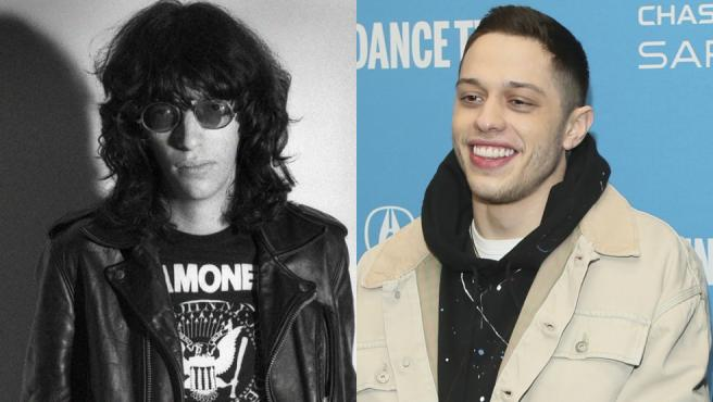 Joey Ramone y Pete Davidson