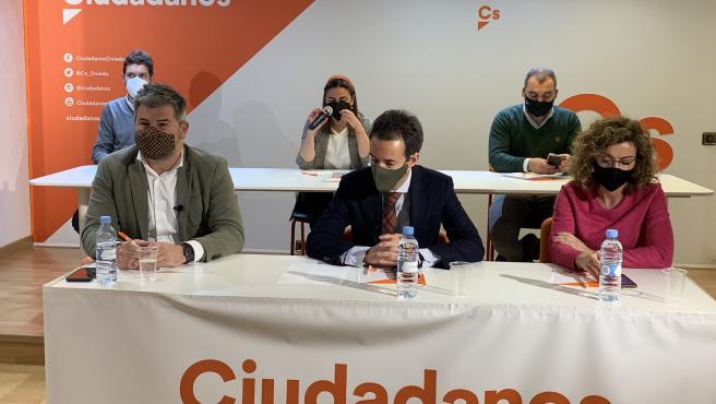 Junta directiva de Ciudadanos en Asturias.