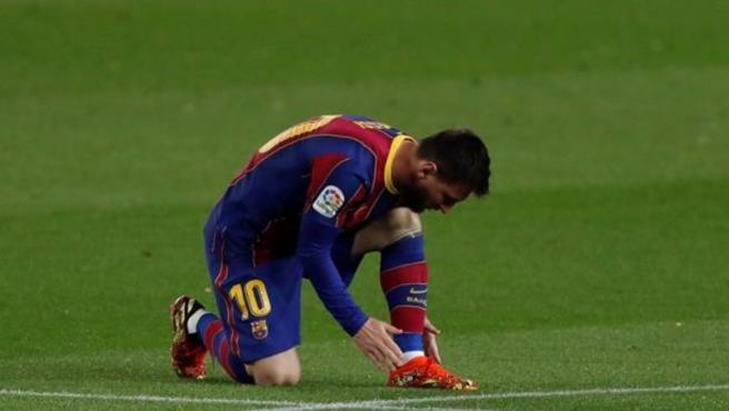 Leo Messi, jugador del FC Barcelona.
