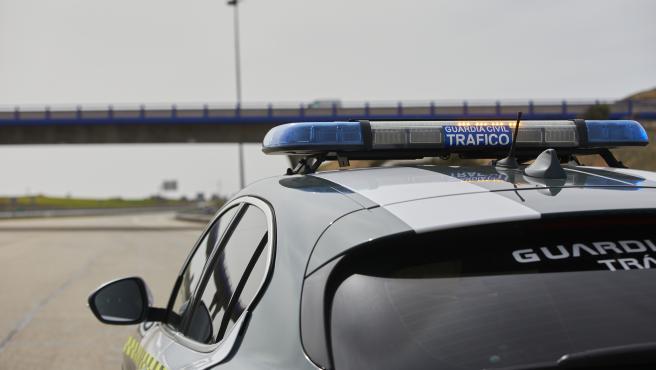 Un coche de la Guardia Civil de Tráfico