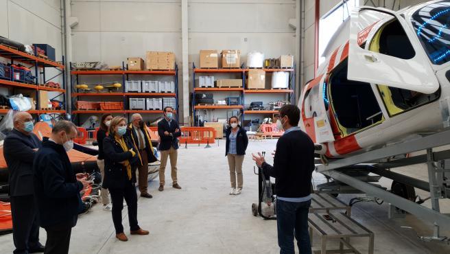 Visita de la delegada del Gobierno en Asturias, Delia Losa, al Centro de Coordinación de Salvamento Marítimo y al Centro de Formación Jovellanos, en Gijón