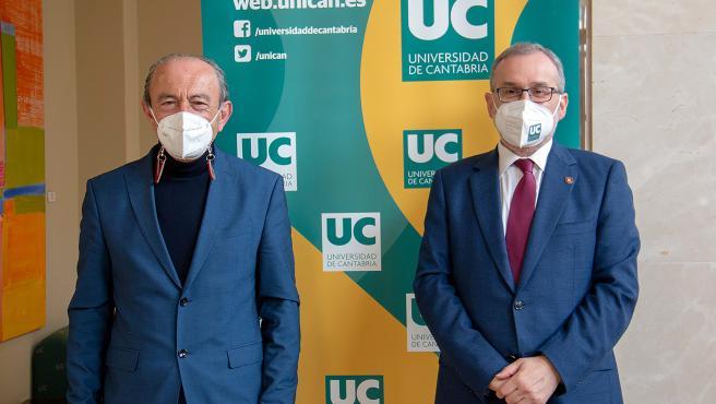 11:00.- Rectorado de la UC (Avenida de los Castros) El consejero de Industria, Turismo, Innovación, Transporte y Comercio, Javier López Marcano, se reúne con el rector de la UC.