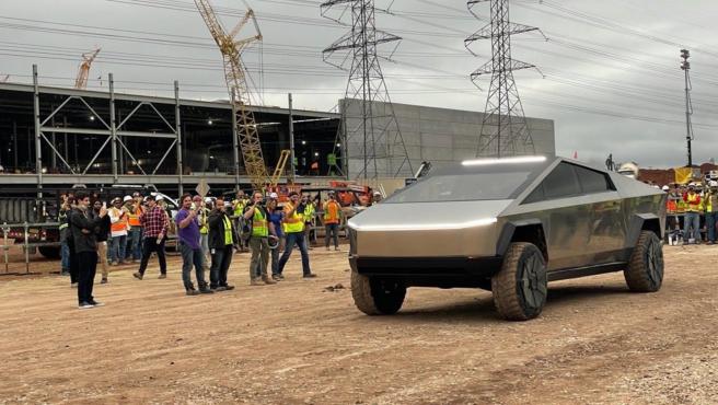 El Cybertruck en la fábrica Gigafactory Texas, en Austin (Estados Unidos).