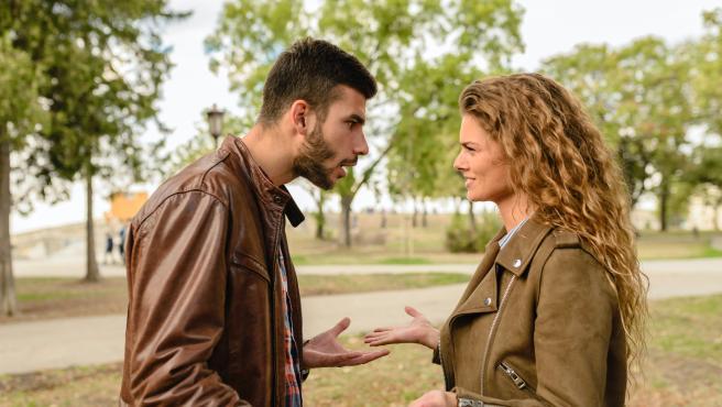 Discusión entre una pareja