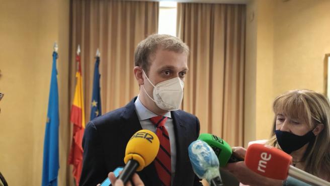 El diputado del PP en la Junta General Pablo Álvarez-Pire.