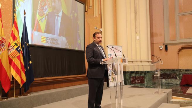 El ministro de Transporte, Movilidad y Agenda Urbana, José Luis Ábalos.