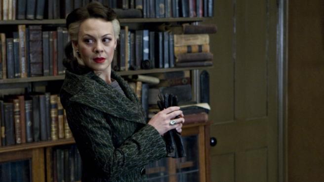 Helen McCrory en 'Harry Potter y el misterio del príncipe'