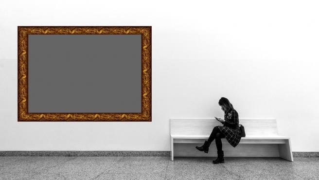 La obra en verdad mide 1x1 píxeles.
