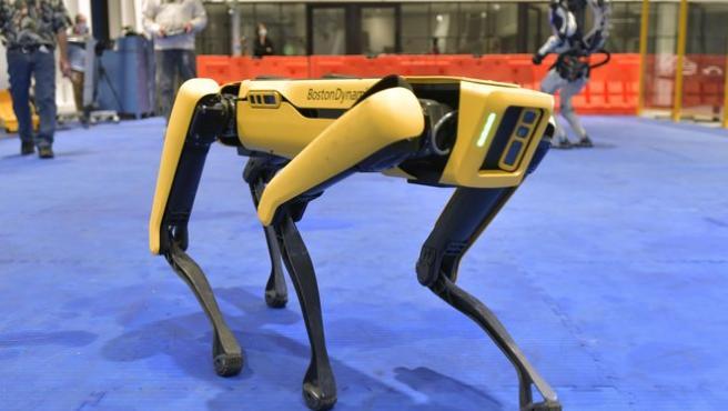 Este es el robot que puede verse deambular por las calles de Nueva York.