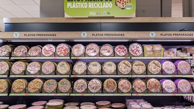 Pizzas refrigeradas Hacendado de Mercadona.