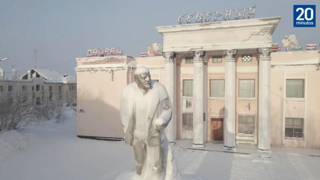 Pueblo ruso congelado.