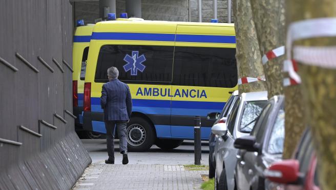 A Coruña Hospital Marítimo de Oza donde se retoma la vacunación con Astrazeneca a personas con edades comprendidas entre los 50 y los 55 años 24/03/2021 Foto: M. Dylan / Europa Press