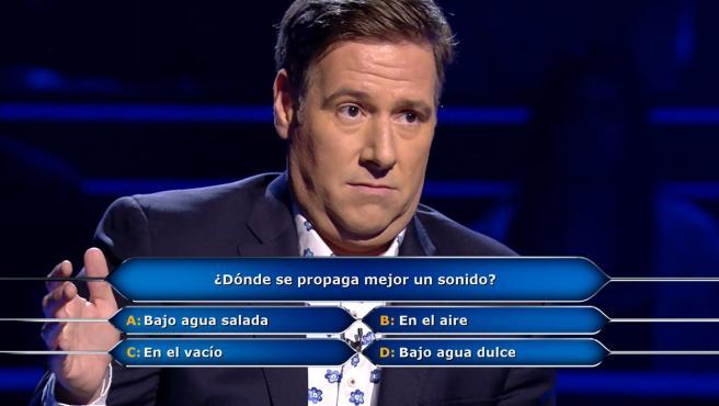 Carlos Latre, en '¿Quién quiere ser millonario?'