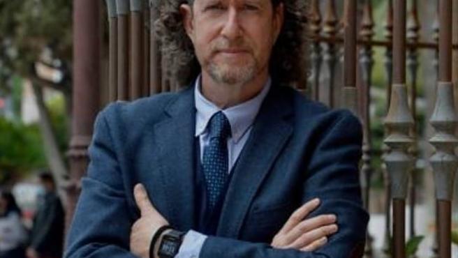 El autor murciano Jerónimo Tristante