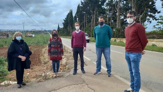 El PP reclama al Consell de Mallorca la ampliación de la carretera que une Muro y sa Pobla.