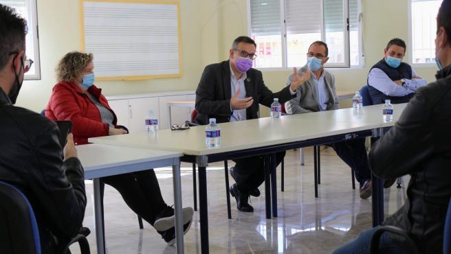 El secretario general del PSRM, Diego Conesa