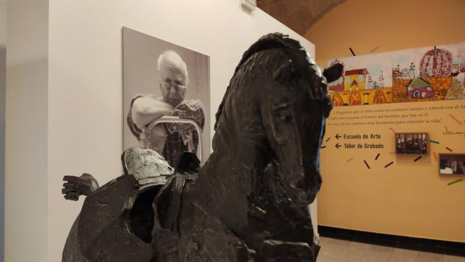 Exposición de Venancio Blanco en la sala Santo Domingo de la Cruz en Salamanca.