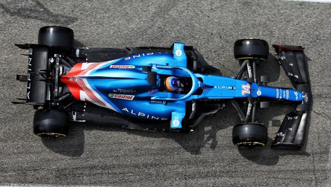 Fernando Alonso, en Imola